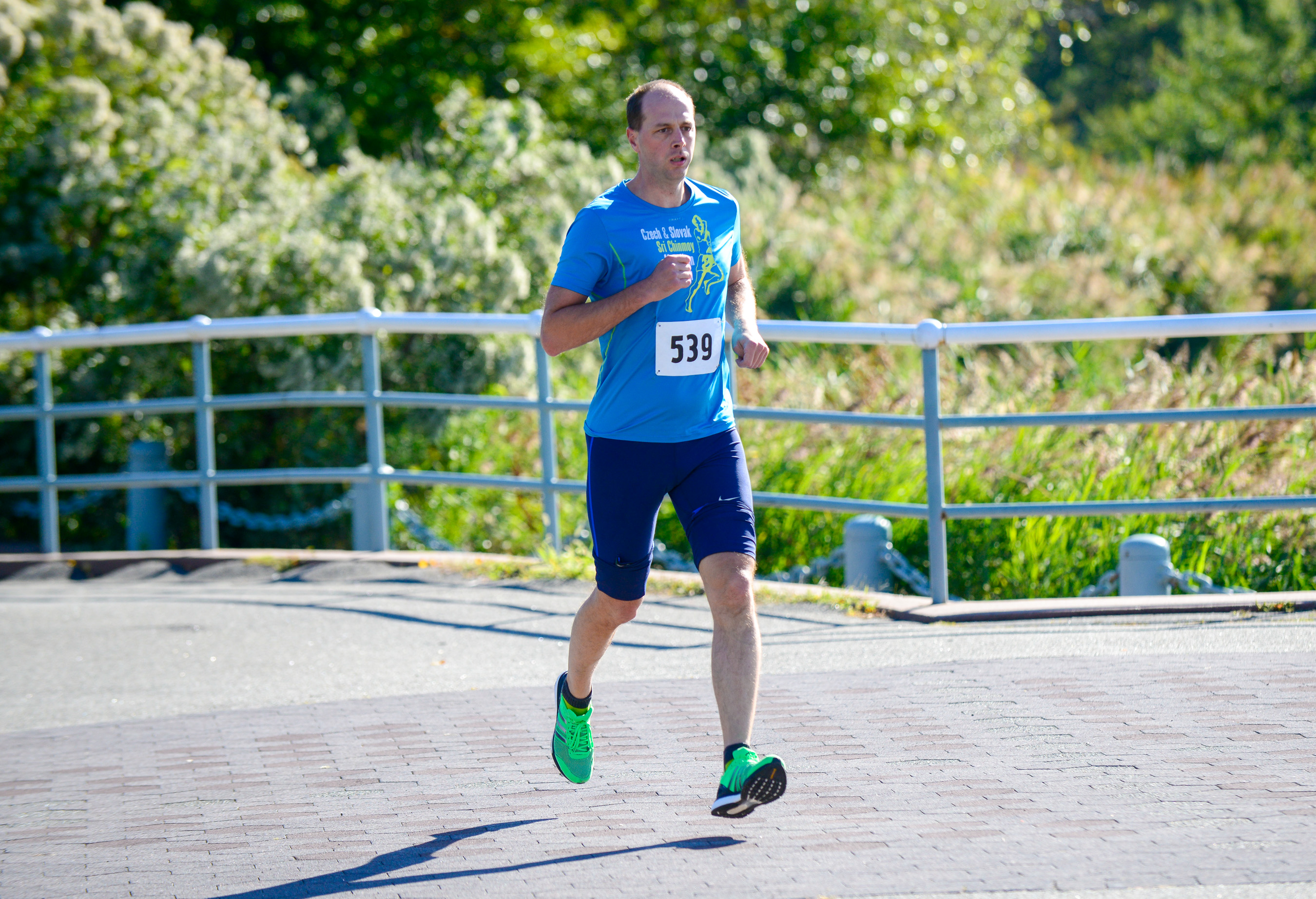 2 Mile Race at the Sri Chinmoy Heart Garden